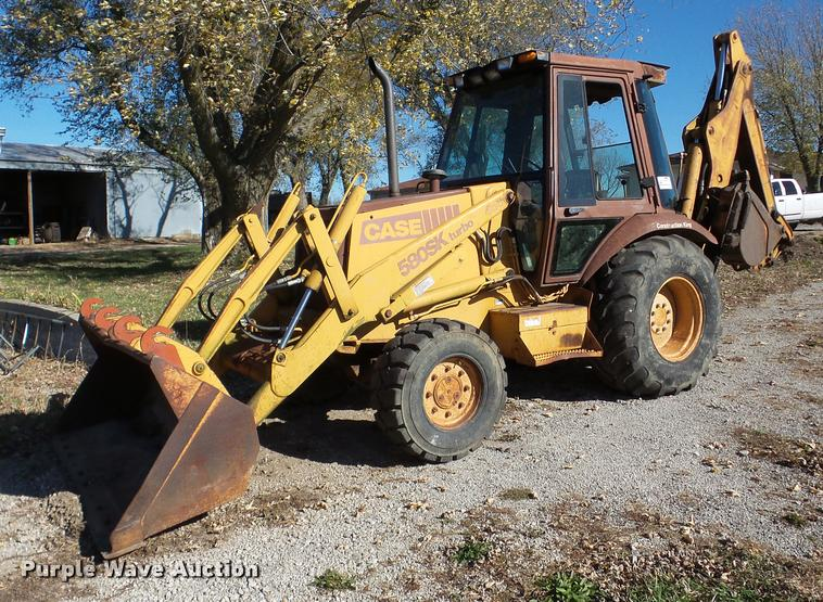 1994 Case 580 Super K backhoe