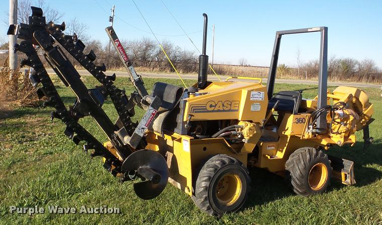 1998 Case 360 trencher