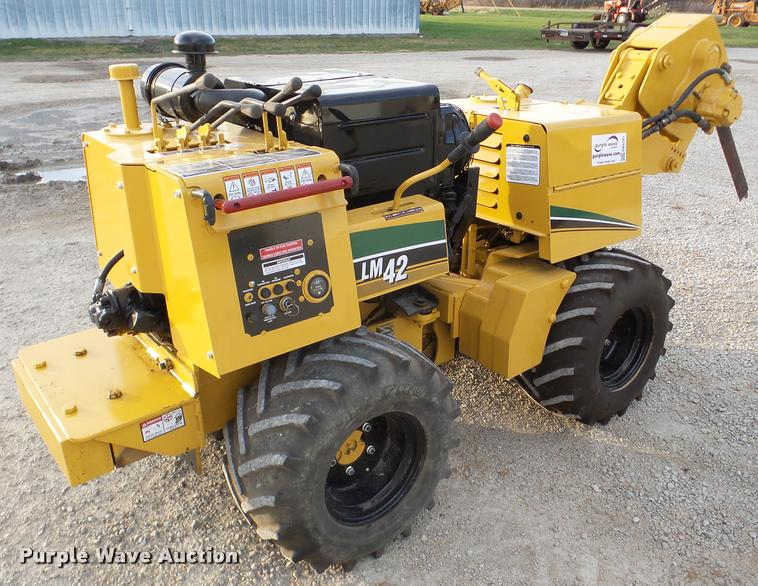 Vermeer LM42 cable plow