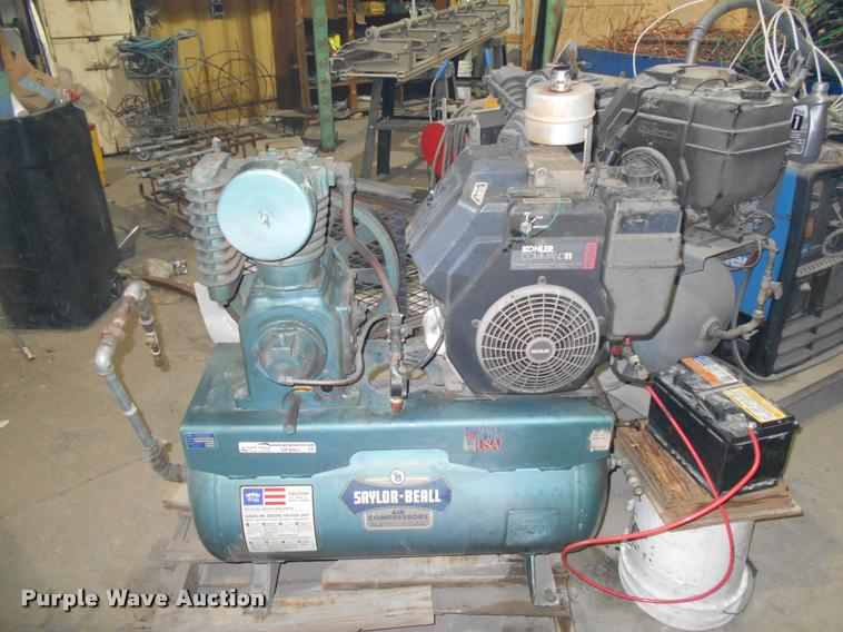 Saylor-Beall air compressor