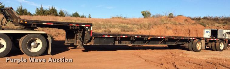 1997 Aztec drop deck trailer