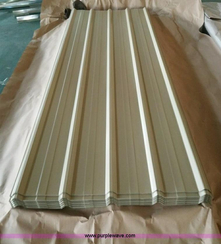 (80) sheets of steel siding