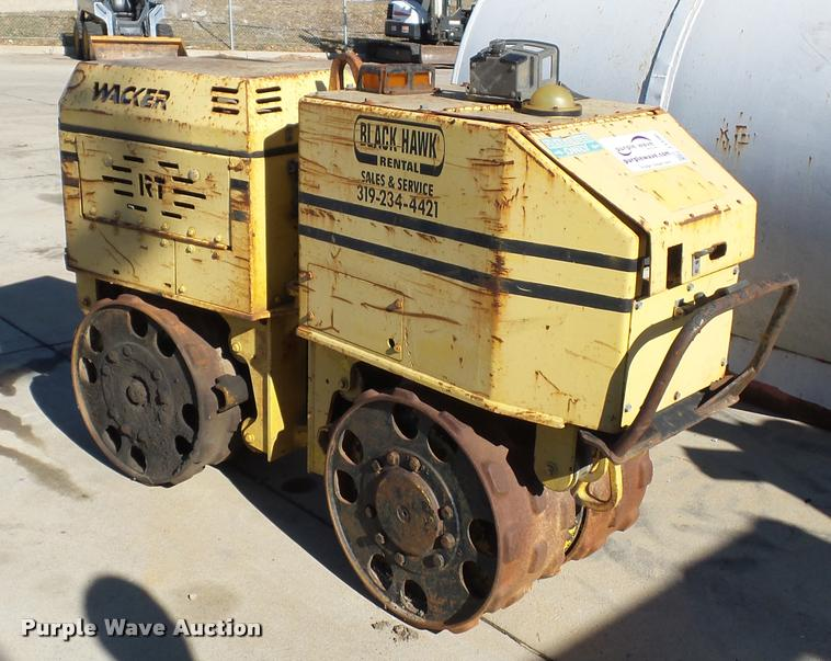 Wacker RT560 walk behind compactor