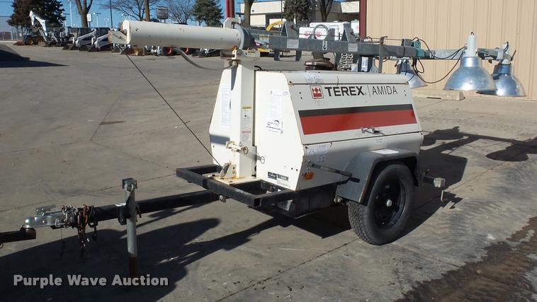 2007 Terex AL4060D1-4MH light plant