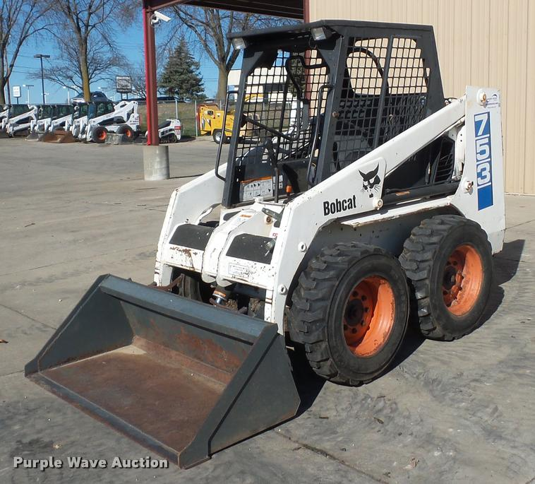 1993 Bobcat 753 skid steer
