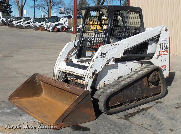 2006 Bobcat T180 skid steer