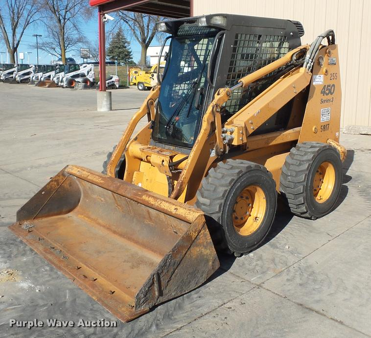 2010 Case 450 Series II skid steer
