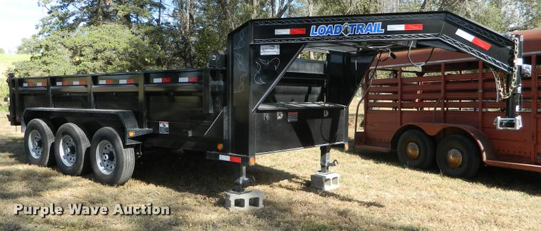 2017 Load Trail TRA dump trailer