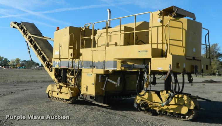 1995 Caterpillar PR450 Roto-Mill pavement profiler