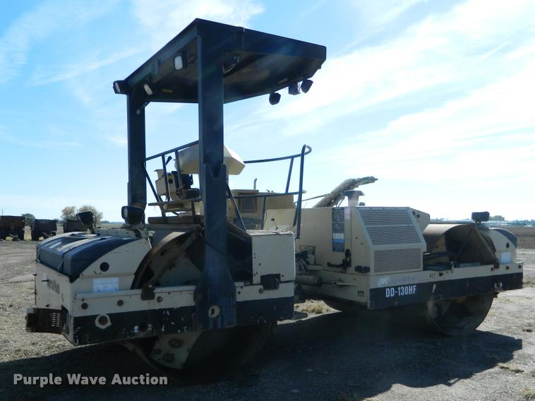 2002 Ingersoll Rand DD130HF double drum vibratory roller
