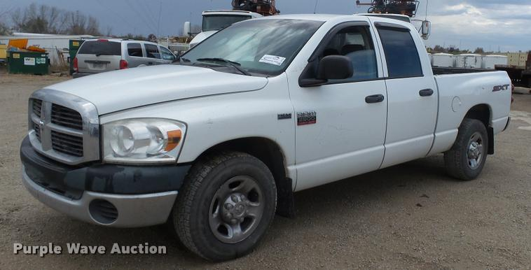2008 Dodge Ram 2500 Quad Cab pickup truck