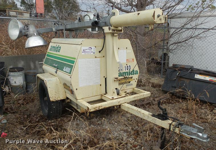 1998 Amida AL4000 light plant