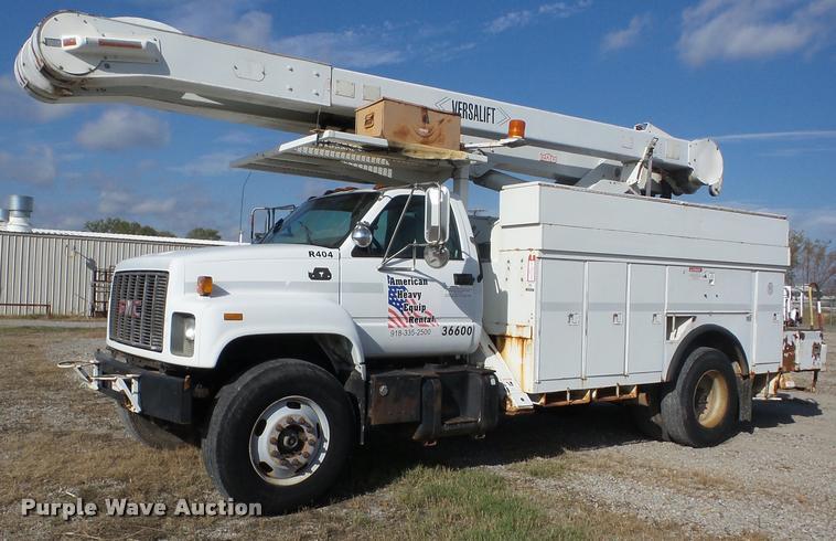 2000 GMC C7500 bucket truck