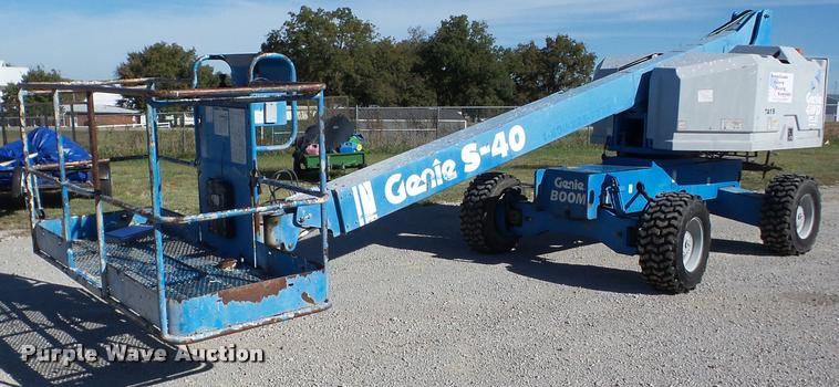 1997 Genie S40 boom lift