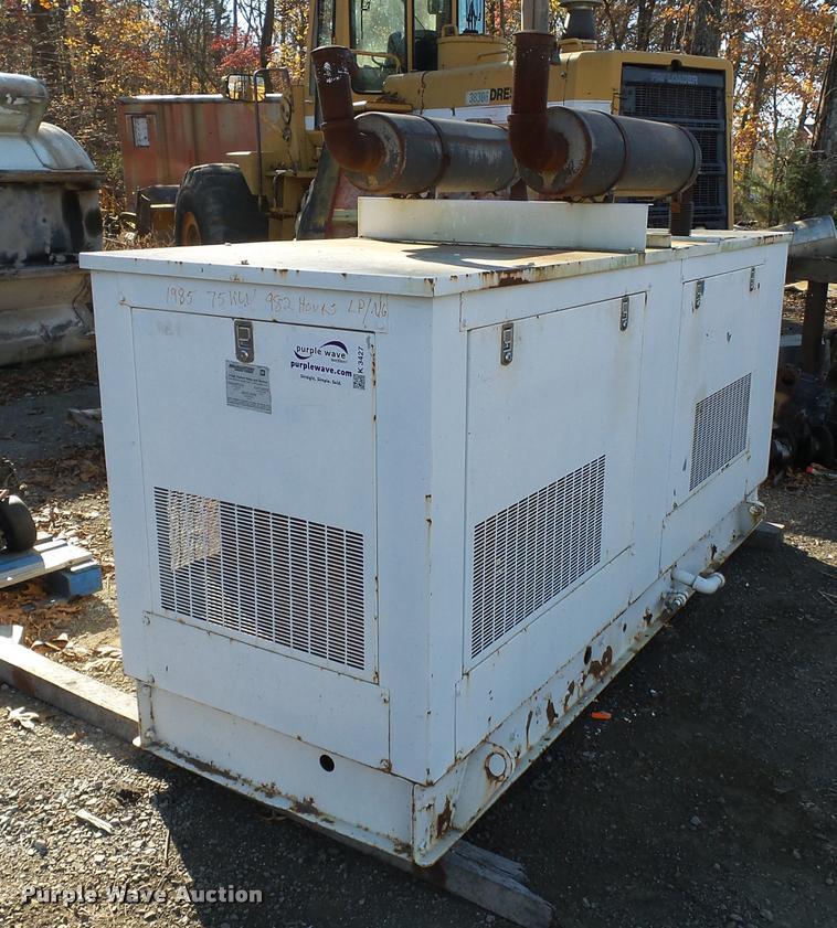 1985 Generac 58368 generator