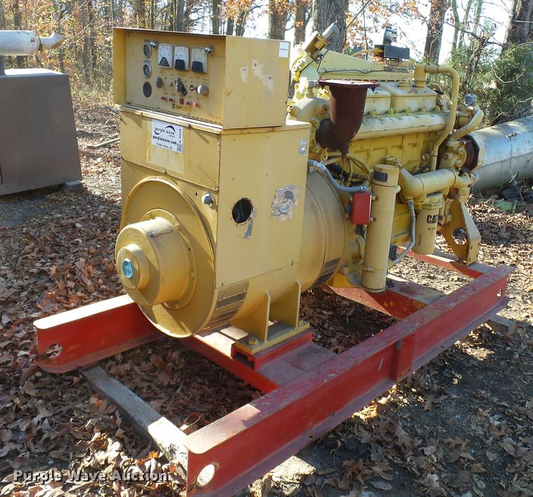 1980 Caterpillar 250kW generator