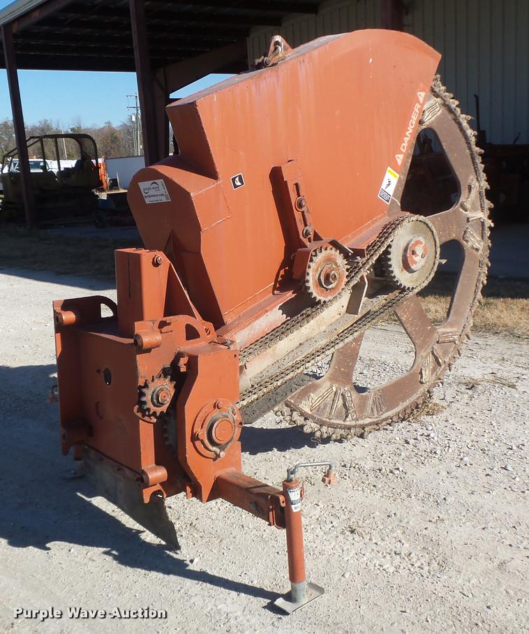 Ditch Witch rock saw attachment