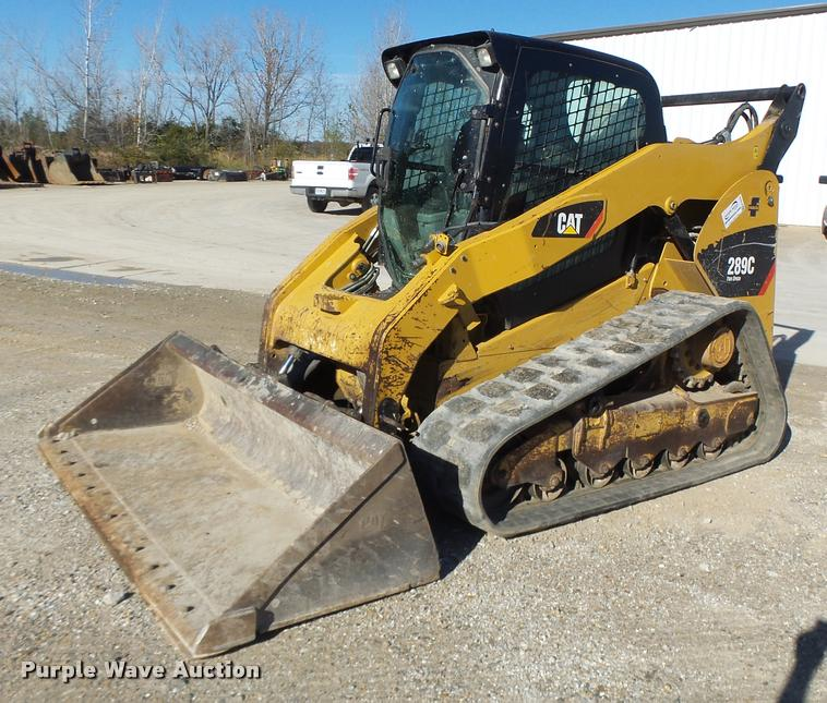 2012 Caterpillar 289C skid steer