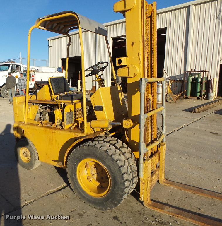 1963 Mobilift MY40MB forklift