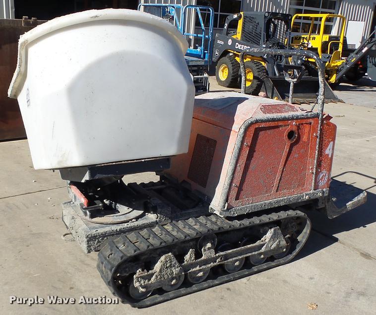2014 Canycom SC75 concrete buggy