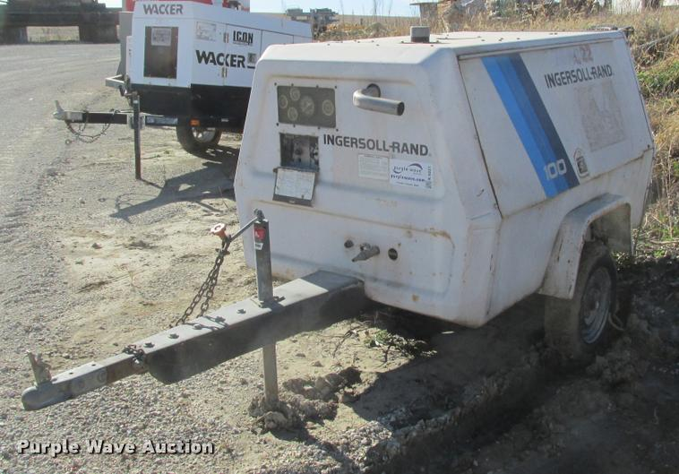 Ingersoll Rand 100 air compressor