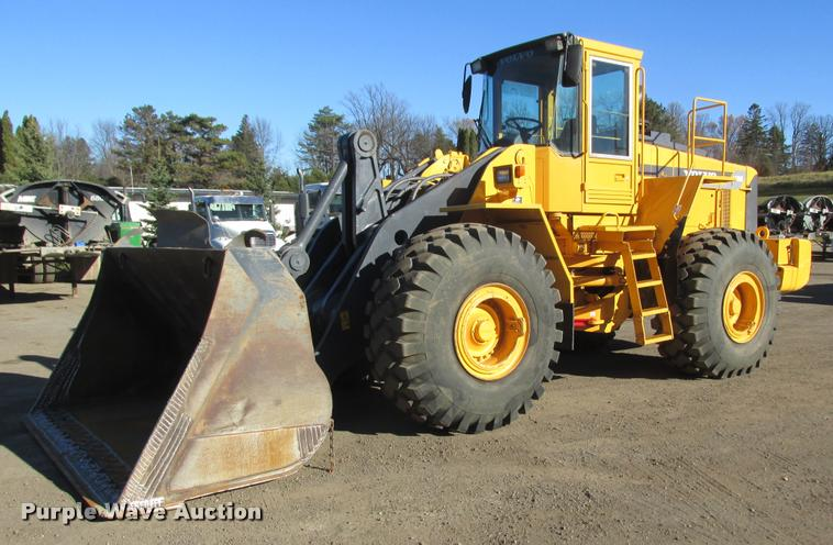 1998 Volvo L180C wheel loader