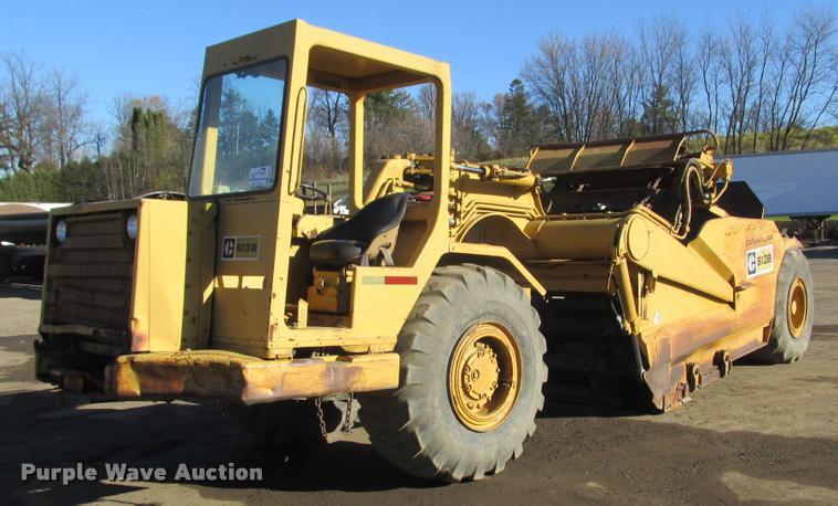 1979 Caterpillar 613B elevating scraper