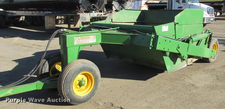 Eversman 700 conventional scraper