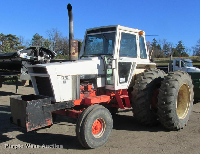 Case 1370 tractor