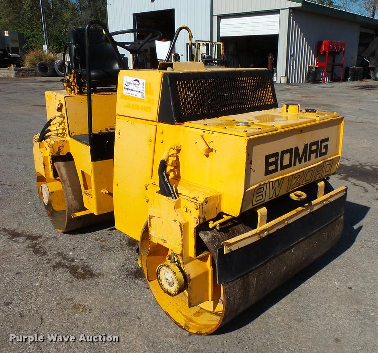 Bomag BW120AD double drum vibratory roller