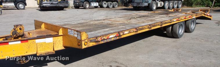 2006 Winston equipment trailer