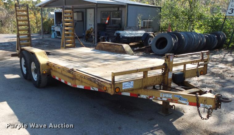 2007 Load equipment trailer