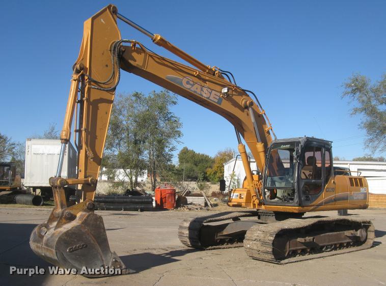 2006 Case CX210 excavator