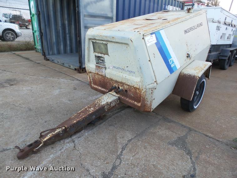 Ingersoll Rand 175 air compressor