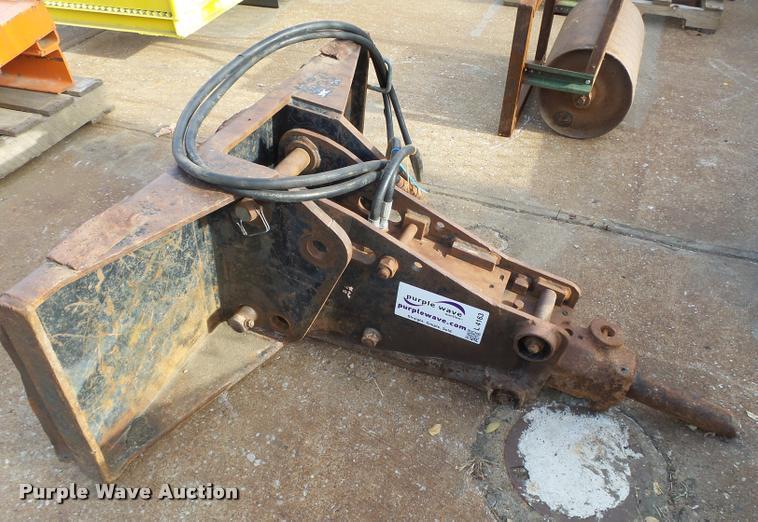 Skid steer hydraulic hammer