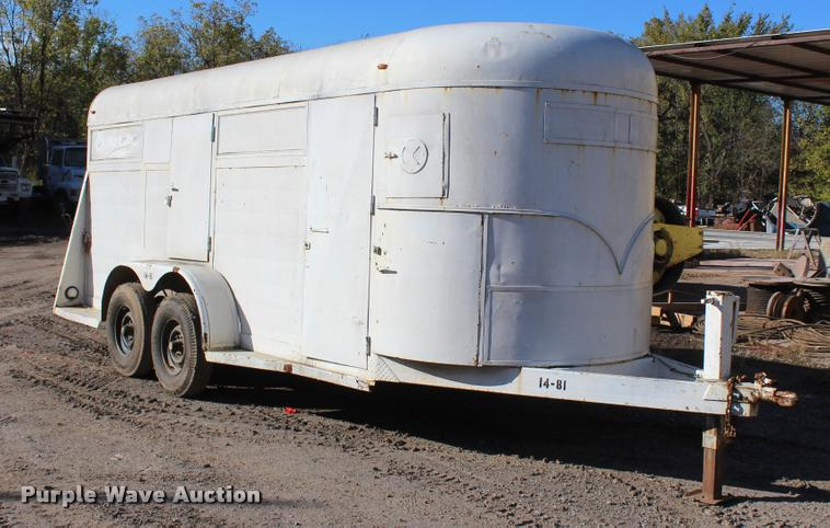 1983 WW enclosed trailer