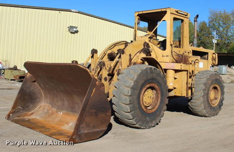 1977 Caterpillar 966C wheel loader