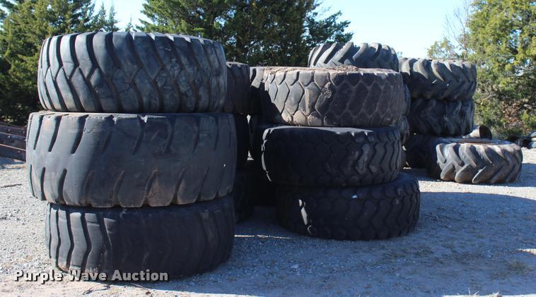 (20) tires