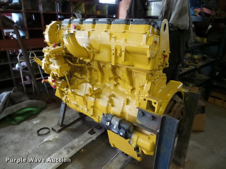 Caterpillar C15 6NZ six cylinder turbo diesel engine