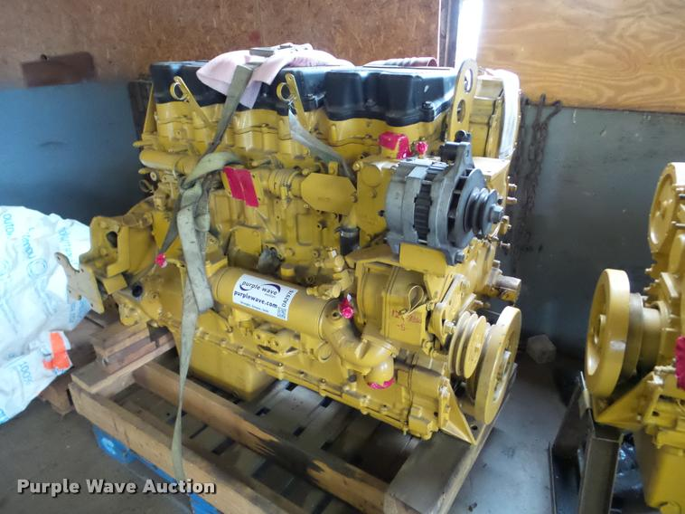 Caterpillar C15 6NZ six cylinder diesel engine