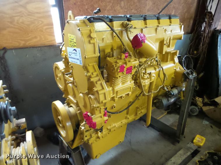 Caterpillar 3406E 14.6L six cylinder turbo diesel engine