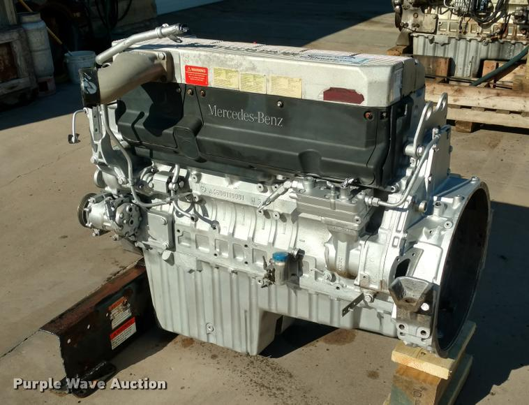 2003 Mercedes Benz 781 C.I.D. six cylinder diesel engine