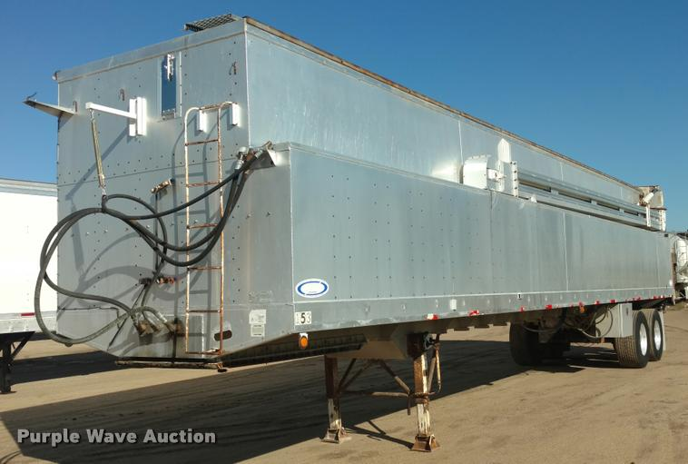 1995 Ledwell feed delivery trailer