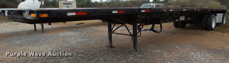 1997 Transcraft TL2000 W2 flatbed trailer