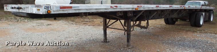 1998 Transcraft Eagle W2 flatbed trailer