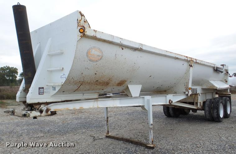 2004 Construction Trailer Specialist, Inc. HRD-32QF end dump trailer