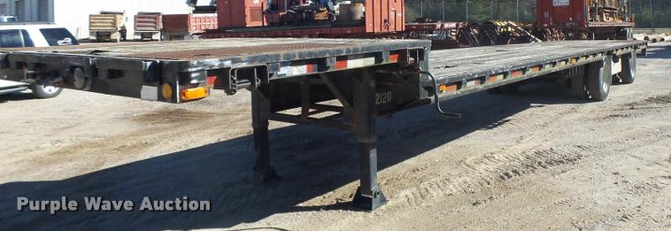 1997 Tarasport drop deck trailer