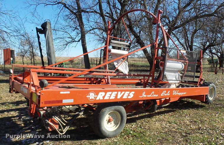 2007 Reeves 652 self-propelled in-line bale wrapper