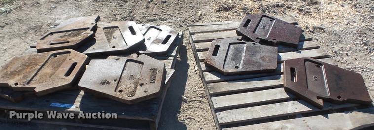 (10) Case suitcase weights