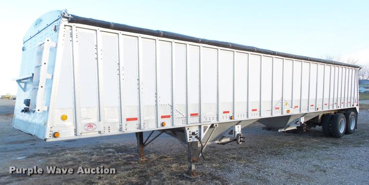1999 Corn Husker 800 ASSR-81098-4212 double hopper grain trailer